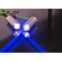 China Blue 405nm Line Laser Diode Module For Industrial Marking Devices High Stability on sale
