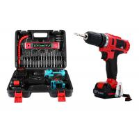 China Durable 25 Pcs Cordless Drill Set Deals , 21V 1500mAh Battery Powered Tool Kits for sale