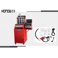 Wholesale Red Fuel Injector Tester And Cleaner , Auto Gasoline Fuel Injector Cleaning Machine from china suppliers