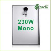 230W Molycrystalline Solar Panels withstand 2400Pa Wind Load , 5400Pa Snow Load