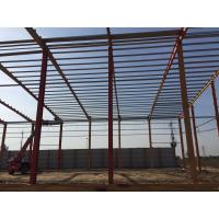 China Q345 prefabricated light steel structure warehouse workshop building   factory for sale