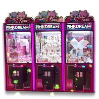 Wholesale PVC Material Dream Doll Claw Machine With LED Light / Arcade Crane Machine from china suppliers