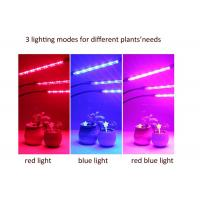 Wholesale LED Three - Tube Grow Lights For Indoor Plants , Cycle Timing Full Spectrum Grow Lights from china suppliers