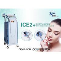 Wholesale SSR SHR E-Light IPL RF For Painless Hair Removal / Skin Treatment 1-26J/cm2 from china suppliers
