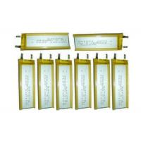 Wholesale 3.7V 900mAh Thin  Li Polymer Battery Pack With 4mm Thickness , Customized Capacity from china suppliers
