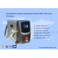 China Portable Q - Switch Laser Tattoo Removal Machine Powerful 500-1000V for sale