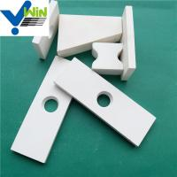 Wholesale 92% high wear resistant white alumina ceramic sheet with high temperature resistance from china suppliers