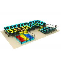 Wholesale Mixed Designs Toddler Indoor Trampoline Park Customized Size 124CBM Volume from china suppliers