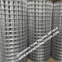 2 X 2 Galvanized Welded Wire Mesh Sheets Anti - Corrosion For Garden Decorative for sale