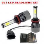 China Auto led headlight bulbs H11 9005 H4 H13 H7 H1 H3 80W 8000LM KIT 30w 60w G7 G21 L5 G20 led headlight for sale
