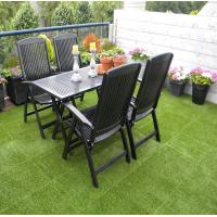 China Synthetic Interlocking Landscaping For Garden Decoration Green Grass Free Sample for sale