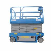 Wholesale 2 Tons Upright Pneumatic Small Hydraulic Scissor Lift System Large Load Capacity from china suppliers