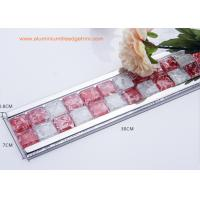Wholesale Instant Mosaic Tile Edge Trim With Aluminium Frame For Bathroom Border from china suppliers