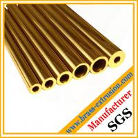 thick round copper alloy tube