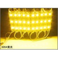 Wholesale 12V LED Advertising Light Module SMD 5054 3-chips LED Module for channel letters from china suppliers