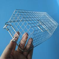 Wholesale Heat Resistant Metal Wire Mesh Basket For Household / Store / Supermarket from china suppliers