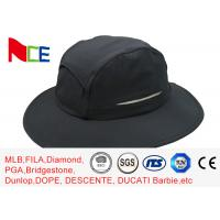 Wholesale Summer Camping Climbing Fisherman Outdoor Boonie Hat / ACE Black Bucket Hat from china suppliers