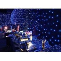 Wholesale Multi - Colors Led Christmas Curtain Lights Backdrop Decoration Sky Effect from china suppliers
