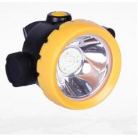 Inductive Charging Coal Miners Hat Light , Rechargeable Miners Headlamp