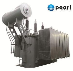 China High Voltage Power Transformer , 110kV - 25000 KVA , LowPartialDischarge on sale