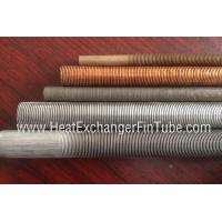 Wholesale Seamless SB338 G.2  titanium integral low finned tube with fin pitch of 30FPI / 36FPI / 43FPI from china suppliers