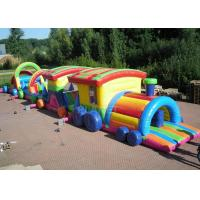 Wholesale Large Long Outdoor Obstacle Course For Kids Interactive Boot Camp from china suppliers