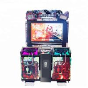 Wholesale 55 Inch Scree Razing Simulator Shooting Game Machine Hardware , Plastic Uptake Material from china suppliers