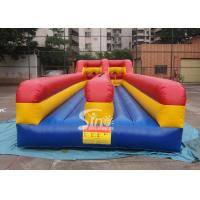 Wholesale 10m long kids N adults inflatable bungee run for indoor or outdoor 2 person interactives from china suppliers
