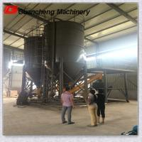 Wholesale 5.5 Ton Cylindrial Structure Steel Cement Silo For Material Transportation from china suppliers