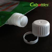 Professional Plastic Spout Caps 9.6 Mm For Packaging Laundry Liquid , Free Sample