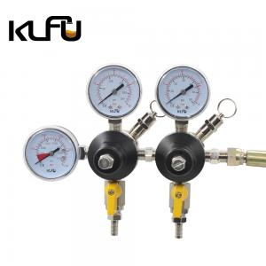 Wholesale Dual Stage Draft Beer Gas Co2 Pressure Regulator Valve High Pressure from china suppliers