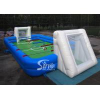 Wholesale Commercial human inflatable foosball arena court for football activities from china suppliers