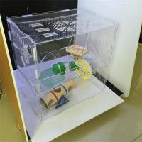 Best Costom figure high transparent acrylic display case/acrylic hamster cage/acrylic pet cage wholesale