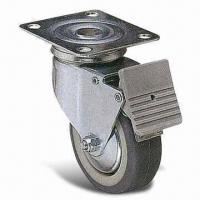 Wholesale Heavy-duty PUP/TPR Industrial Caster with 25mm Wheel and 75mm Outside Diameter from china suppliers
