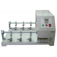 Wholesale Six Station Leather Preprocessing Flexing Testing Machine Crumpling Resistance Tester from china suppliers