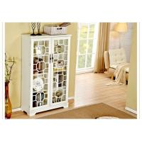 Wholesale Bookcase With Glass Doors , Trustic All White Bookcase Cabinet from china suppliers