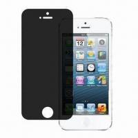 Wholesale Privacy Screen Protector, Ideal for iPhone 5, Washable and Reusable from china suppliers