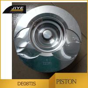 Buy cheap doosan engine parts DE08T DE12T cylinder piston fit to diesel engine truck from wholesalers