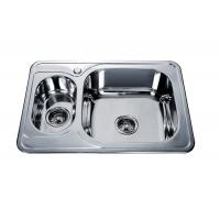 Wholesale stainless steel sink 1.5 bowl drainer  #FREGADEROS DE ACERO INOXIDABLE #kitchen sink #building material #hardware #sink from china suppliers