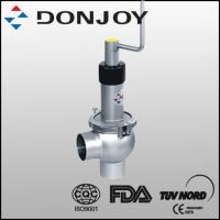 1 Inch SS 316L Sanitary Manual Regulating Single  Seat Valve with Welding Ends