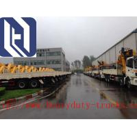 China High Efficient Yard Telescopic Boom Crane / Container Reach Stacker XCH80 on sale