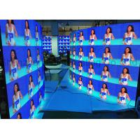 Wholesale Curved Portable P3.91 Die Cast Aluminum Rental LED Display Indoor Full Color 500x500 LED Panels CE / RoHS Flight Case from china suppliers