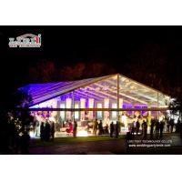 Wholesale Large Clear Luxury Wedding Tents Decoration With PVC Roof Cover from china suppliers