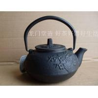 Wholesale Chinese Antique Cast Iron Tea Pot 600ml With Bamboo & Plum Blossom Design from china suppliers