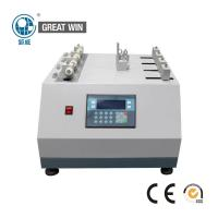 China Shoe Lace Abrasion Fabric Testing Machine 54 - 66 Cycles / Min 52 . 2 ° Angle for sale