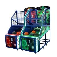 Wholesale Fancy Shooting Street Basketball Arcade Game Machine Orange Green Blue Color from china suppliers