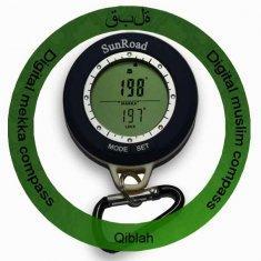 Quality IPX4 Waterproof Digital Altimeter Compass For Muslim Pilgrimage ,Moslem Pray, for sale