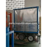 mobile type double-stage vacuum transformer oil purifier,open-air insulating oil filtration machine for power station for sale
