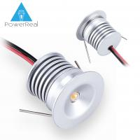 Wholesale Mini LED downlight1W,95LM,AC90-260V,DC12V,IP65,80Ra,color temperature :3000K,4000K,6000k,other light color:red,blue from china suppliers