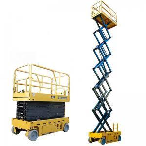China XCMG Heavy Duty Dump Truck 12m , Hydraulic Working Warehouse Platform Lift on sale